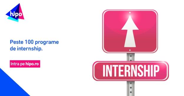 100 programe de internship pe Hipo.ro